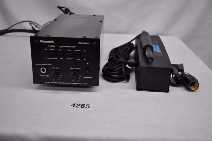 Numark PX 2626 Pink Noise Generator (with 272 microphone) #4265 #Numark