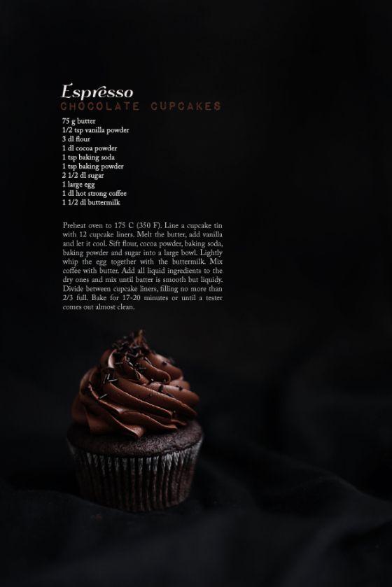 Espresso Chocolate Cupcakes: Espresso Cupcakes, Espresso Brownies ...