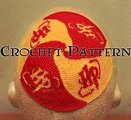 Who knew? Ravelry: Harry Potter Crochet Kippah / Yarmulke Pattern pattern by Greg Sager