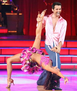 Melissa Rycroft and Tony Dovolani. I have an obsession with her!