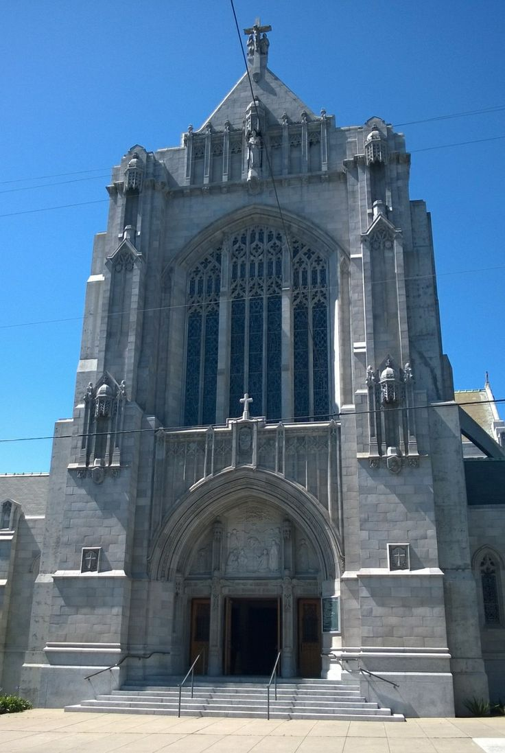 Church near Japantown, San Francisco