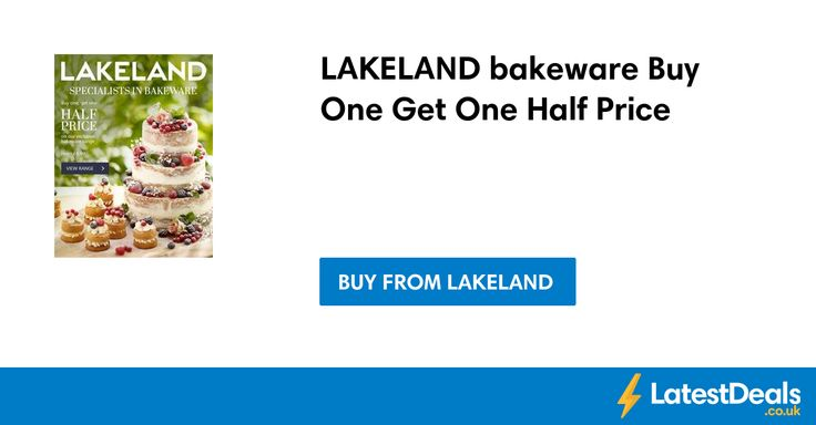 LAKELAND bakeware Buy One Get One Half Price