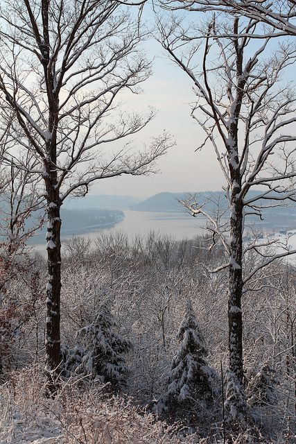 wonderland | Flickr - Photo Sharing!  View of the Ohio River from Hanover College.