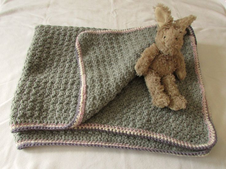 Very Easy Crochet Baby Blanket For Beginners Quick