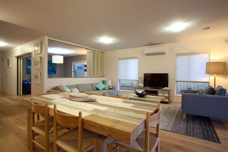 Erskine Display Home - Hotondo Homes Loved the beachy feel with the shutters and decor