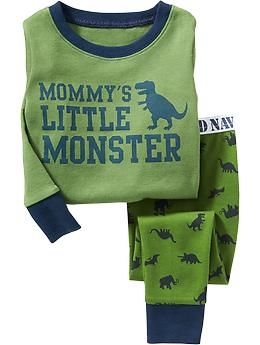 """""""Little Monster"""" PJ Sets for Baby"""