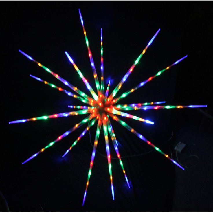 Led Shop Lights Australia: LED 3D Flashing Meteor Star Christmas Light: Multi