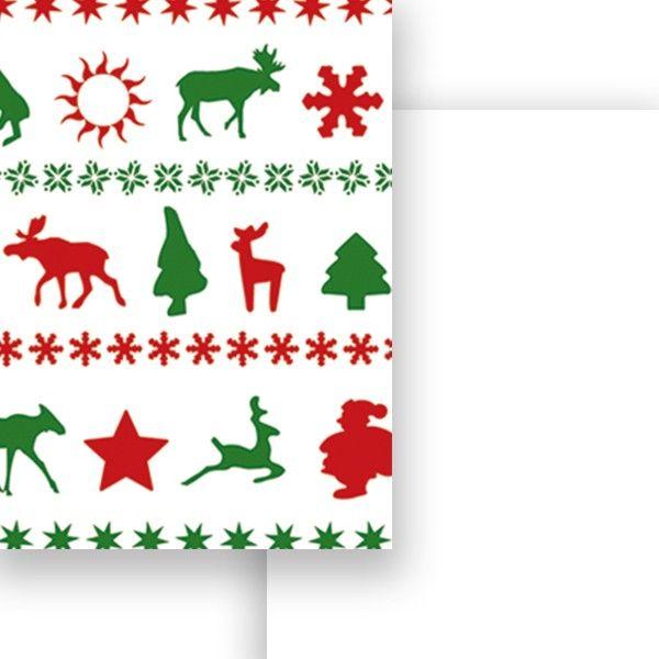 Fotokarton, 50x70 cm - skandináv karácsony - Art-Export webáruház