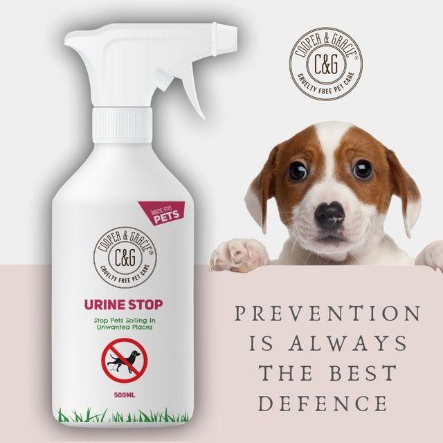 Urine Stop Spray Dog Perfume Cruelty Free Itchy Dog Skin