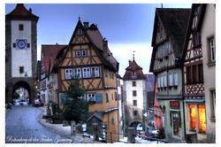 Rothenburg ob der Tauber...cutest place I've been in Germany!