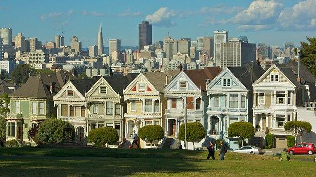 Los barrios distintos de San Francisco #sanfrancisco #viajes