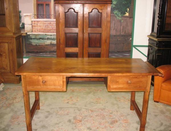 Table-Bureau en merisier XIXe | Antiquites Lecomte