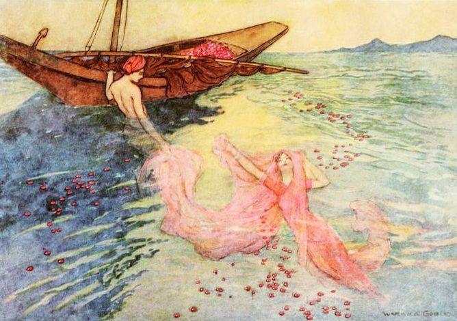 Folk Tales of Bengal, Warwick Goble: