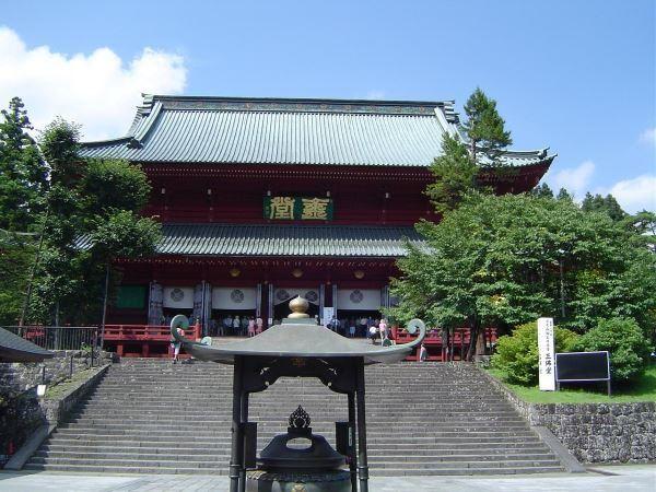 Le temple Rinnoji