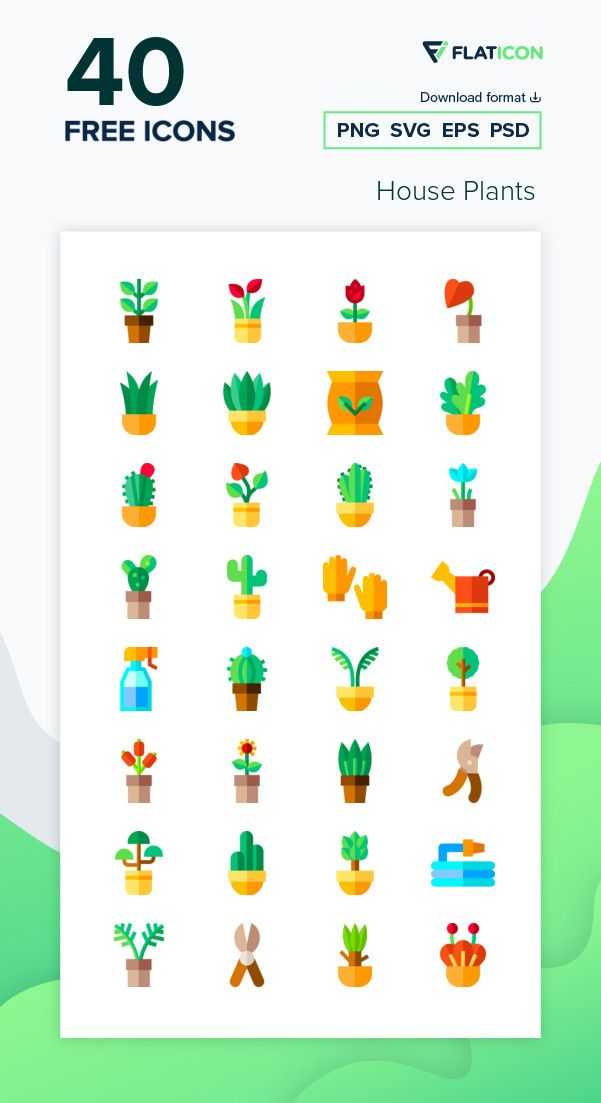 50 Free Vector Icons Of Plants Designed By Darius Dan Plant Icon Icon Pack Icon