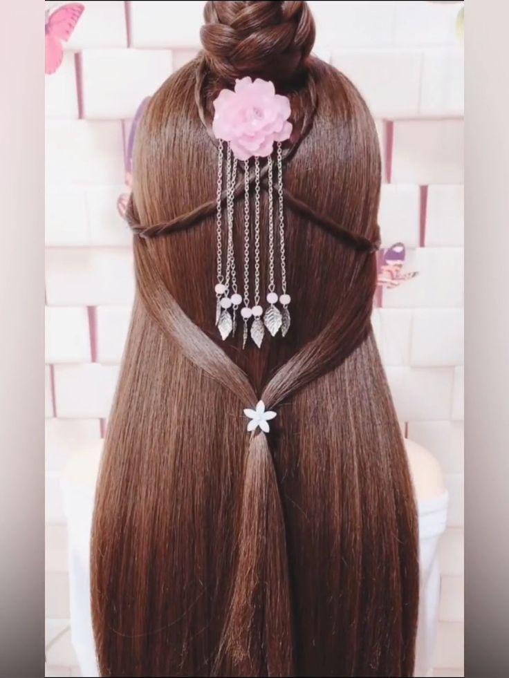 Hairstyle Videos For Medium Length Hair Formal Formal Formalhairstyleseasysimple Hair H In 2020 Hair Styles Braided Hairstyles Hair Videos