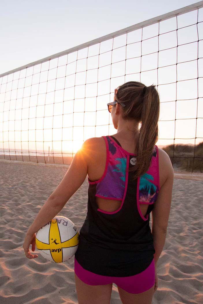 Get back to the basics of beach volleyball with #ROXYOutdoorFitness ambassador Rachel Moore.