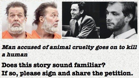 Petition · The Government of Canada: Require that everyone convicted of animal cruelty under the Criminal Code of Canada be required to undergo mandatory risk assessment and treatment developed specifically to target animal abuse. · Change.org