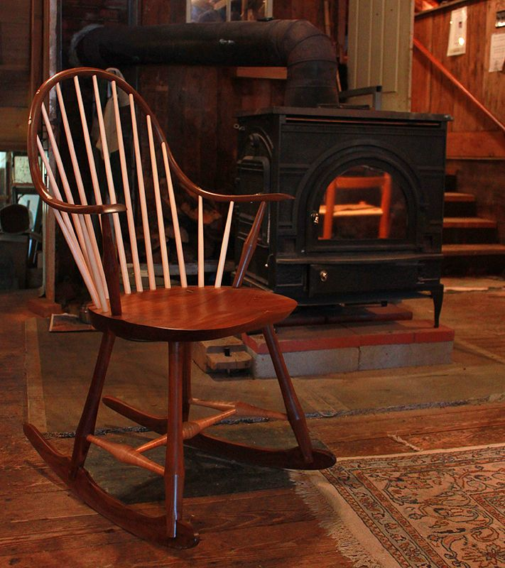 Amazing Black Walnut Wood Chairs   West Barnstable Tables