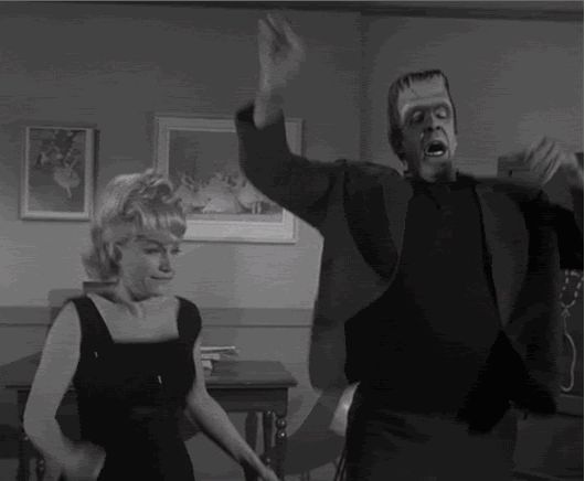 Dancing Herman Munster