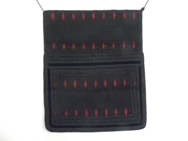 Futa- woven woolen apron, made from two horizontal united parts