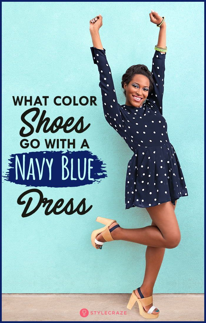 fdaace2d70e What Color Shoes Go With A Navy Blue Dress? | Women Attire | Navy ...
