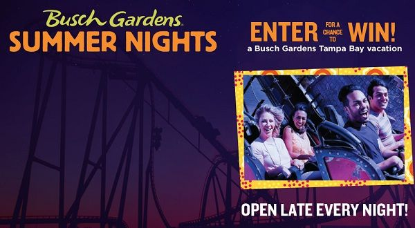 Enjoy free trip at Busch Gardens theme park or grab a chance to win 1 of over 900 instant win prizes just by entering in PDQ & Busch Gardens Sweepstakes & Instant Win Game.   #Sweepstakes #Wintrip