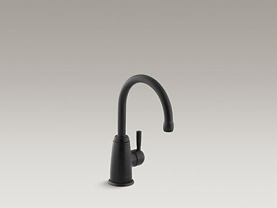 KOHLER | K-6665-F-BL | Wellspring® Beverage faucet with contemporary design complete with Aquifer® water filtration system