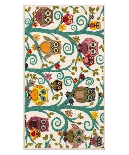 owl rug!!!! owlet rug, bird rug, home decor