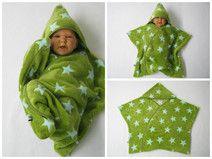star fleece baby wrap stern schlafsack pucktuch