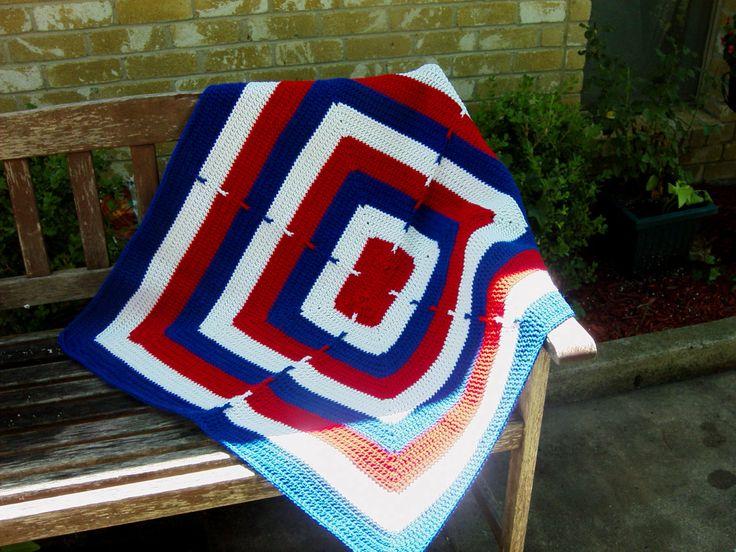 Crochet Patterns For Veterans : 1000+ images about Crochet-afghans on Pinterest Free ...