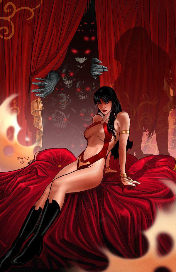 Vampirella 7 cover