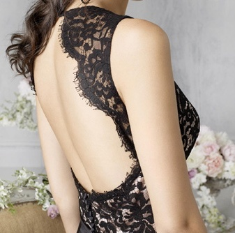 love this back!: Bridesmaids, Wedding Dressses, Style, Lace Wedding, Bridesmaid Gifts, Black Laces, Lace Bridesmaid, Black Bridesmaid Dresses, Lace Dresses