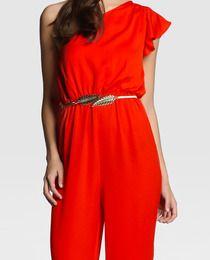 Mono largo de mujer Easy Wear en rojo