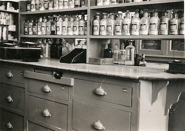 Otra perspectiva del antiguo laboratorio de elaboración de #formulasmagistrales