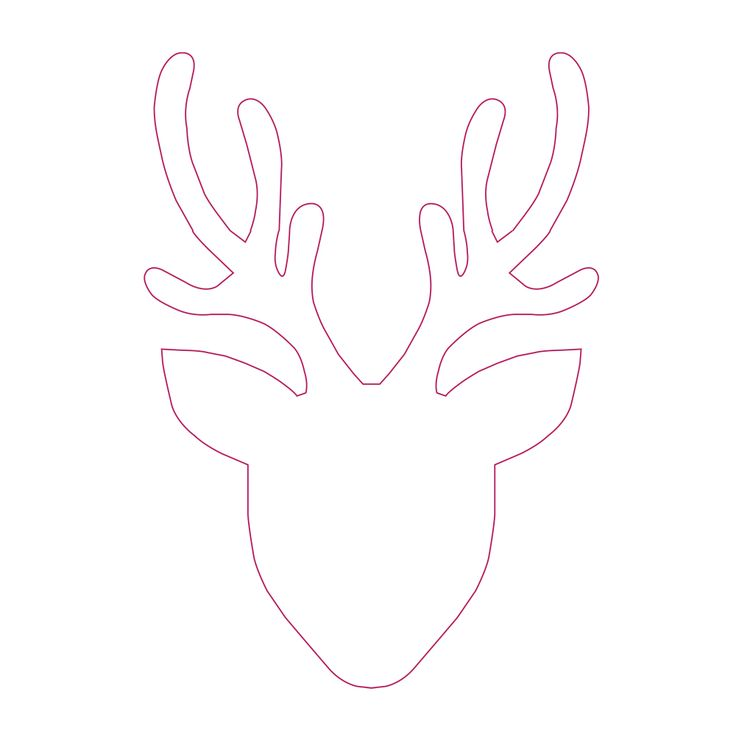 Download our stag headpattern and follow our YouTube tutorial or blog post and decorate a garment or cushion cover with a stag head motif.