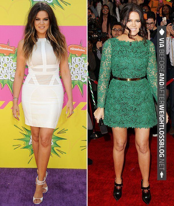 Like this! - Khloe Kardashian before and after weight loss Weight Loss ...
