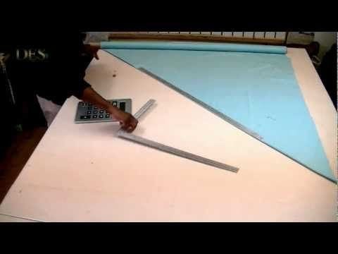 Learn how to make Waterfall Valance part 1 - YouTube