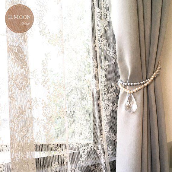 Pairx2 Simply Elegant Curtain Tie Backs Classic Window Etsy