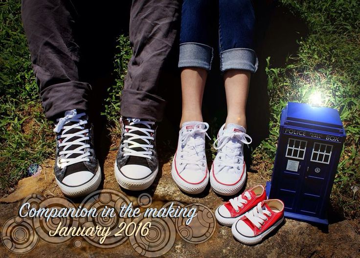 Doctor Who inspired Baby Announcement ❤️