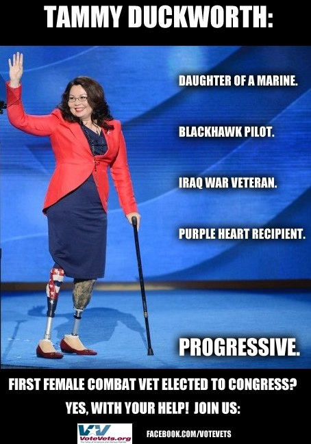 Tammy Duckworth - Progressive Democrat