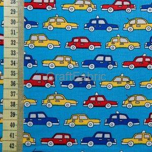 Samochodziki - Tkanina bawełniana Sklep Internetowy CraftFabric