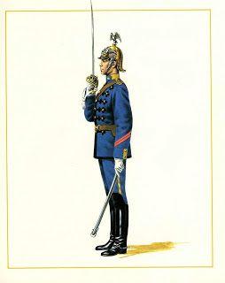 Cabo 1º del Escuadrón Caballería Escolta ( 1898 )