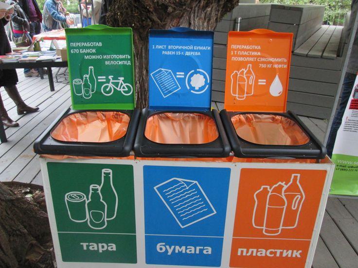 """Набор контейнеров для раздельного сбора от компании """"Сфера экологии"""""""