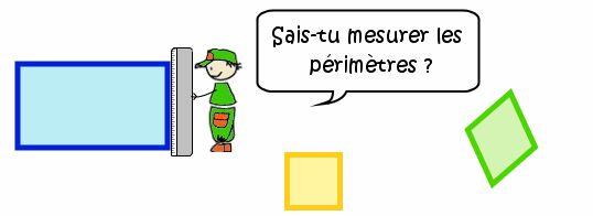 Cours de maths CM1 - Le périmètre du rectangle, du carré et d'autres polygones particuliers - Maxicours.com