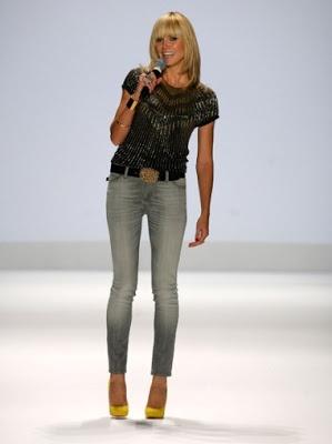 Fill blank? heidi klum jordache jeans