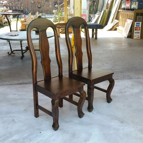 Gorgeous Handmade Solid Wood Chairs De Barrio Antiguo 7138802105 In Houston  Texas