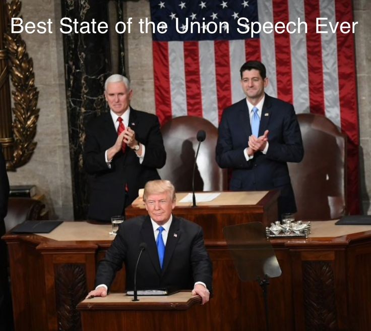 They must all be thinking -- Look at the liberals sitting on their hands. Actually that's all they've done for an entire year. Not even one voted for tax cuts for Americans. They did shut down our government because they want more illegals in our country = votes for them‼️
