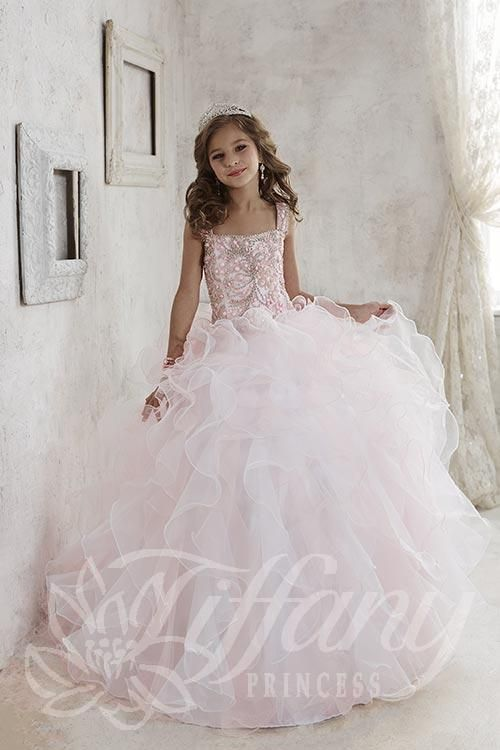 Tiffany Pageant Dresses For Girls 13456