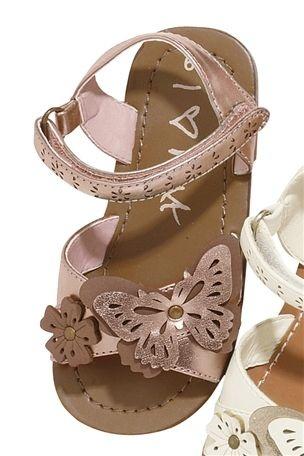 Butterfly sandals for little bridesmaids  http://www.next.co.uk/g38532s1#132251g38